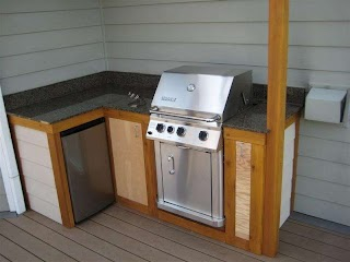 How to Make Outdoor Kitchen Cabinets 17 Plansturn Your Backyard in Entertainment Zone