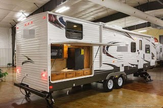 Bunkhouse Travel Trailers with Outdoor Kitchens New 2014 30dbss Slide Out Trailer Kitchen