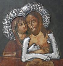 Icoana Maica Domnului Pieta, sec al XVIII-lea, Rusia - 204 - poza 2 - Galeria Anton
