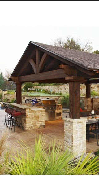 Outdoor Kitchen Structures Separate Buildinggazebo Type Structure for Adjacent
