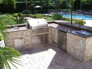 L Shaped Outdoor Kitchen Ideas Googe Search Poo