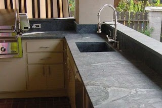 Outdoor Kitchen Counters Best Countertops Compared Countertop Specialty