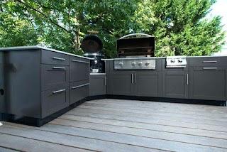 Teak Outdoor Kitchen Cabinets Cabinet Ideas