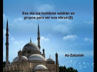 Sura El gran terremoto <br>(Az-Zálzala) - Jeque / Ali Alhuthaify -