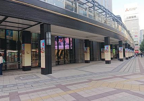 ヨドバシ梅田1F南東入り口前 イベントスペース