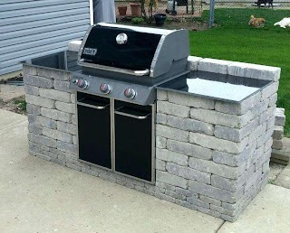 Outdoor Kitchen Grill Insert Brick Kit Best Ideas on Whatsupbroco