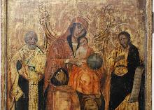 "Icoana romaneasca ""Maica Domnului cu Pruncul"", sec al XIX-lea - 174 - poza 2 - Galeria Anton"