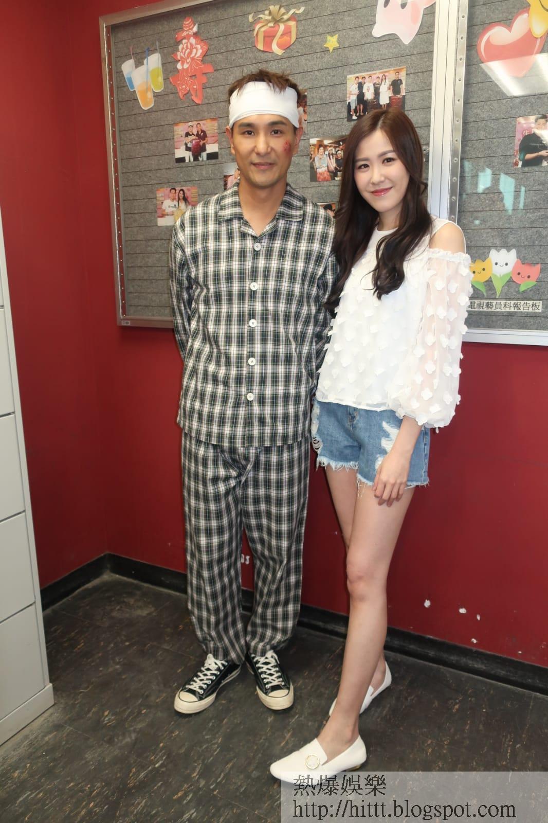 陳展鵬與Moon飾演一對,但床戲只是傾偈。