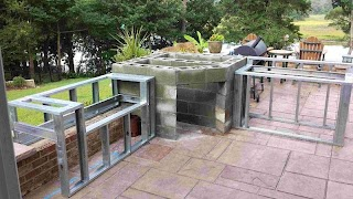 Pizza Oven Outdoor Kitchen Another with Our Wood Fired