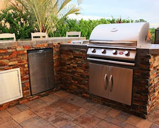 Premade Outdoor Kitchen Prefabricated Pacific Living