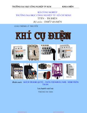 ĐHCN.Giáo Trình Lý Thuyết Khí Cụ Điện - Bạch Thanh Quý & Văn Thị Kiều Nhi, 107 Trang.pdf