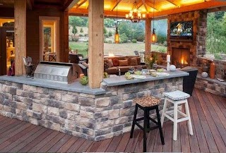 Outdoor Kitchens Pictures Designs Brick Kitchen Patio Kitchen Ideas