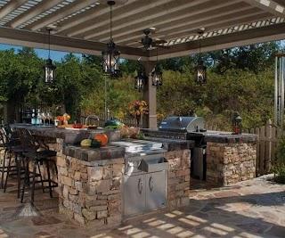 Amazing Outdoor Kitchens 31 Kitchen Ideas