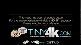 Tiny4K – Petite Blonde Elsa Jean gets in the Red Zone with Danny Mountain
