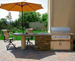Cost Outdoor Kitchen How Much Does an Pacific Living