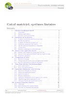 07-Calcul matriciel, systèmes linéaires klub prepa.pdf