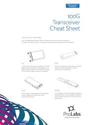 100G Transceiver Cheatsheet