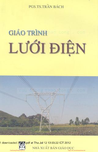 Giáo Trình Lưới Điện - Pgs. Ts. Trần Bách, 258 Trang.pdf