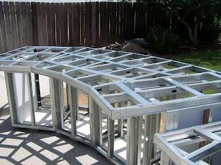 Steel Studs for Outdoor Kitchen S Or Concrete Blocks Yard Ideas Blog