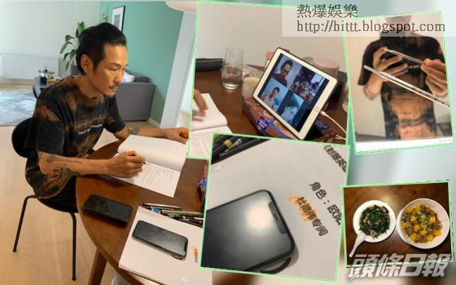 杜德偉去到上海第六日,終於有得開工圍讀劇本。