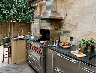 Outdoor Kitchen Cabinets IKEA DIY Home Design Ideas