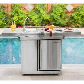 Outdoor Kitchen Beverage Center S Cooking The