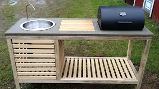 Portable Outdoor Kitchens Build a Kitchen Lifehacks DIY and Helpful Hints