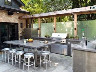 Outdoor Kitchens Ideas Top 60 Best Kitchen Chef Inspired Backyard Designs