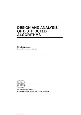 0471719978 {A05882E8} Design and Analysis of Distributed Algorithms [Santoro 2006-10-27].pdf