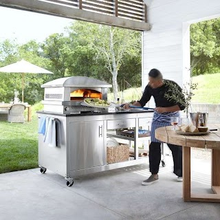 Outdoor Pizza Kitchen Kalamazoo Artisan Fire Oven Station With