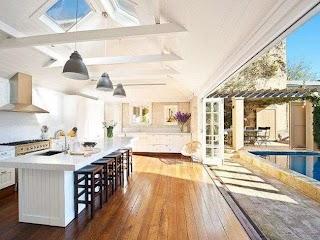 Indoor Outdoor Kitchen Ideas at Modern Home Design