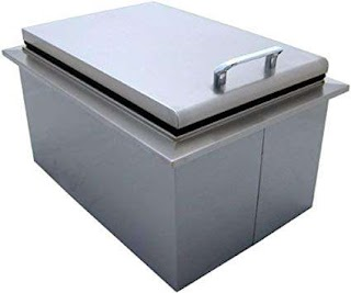 Outdoor Kitchen Ice Chest Amazoncom Pcm 260 Series Drop in Cooler Fully Insulated