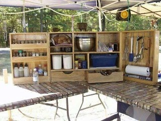 Outdoor Kitchen Camping The Fun of in a Tent Ideas Pinterest