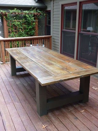 Outdoor Kitchen Table How to Build a Dining Building an Dining