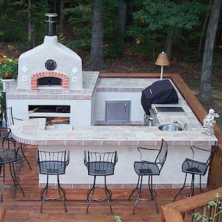 U Shaped Outdoor Kitchen Designs The Ltimate Otdoor in Yor Backyard Archadeck Otdoor Living