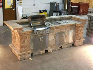 How to Build a Stone Outdoor Kitchen DIY Plns Impressive Plns