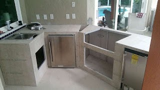 Florida Outdoor Kitchens Custom Kitchen Frames Grills and Accessories