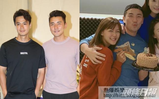 洪永城同女友梁諾妍同居,他直認差不多年紀,已有心理準備做爸爸。
