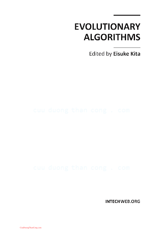 9533071710 {E34DF523} Evolutionary Algorithms [Kita 2011].pdf