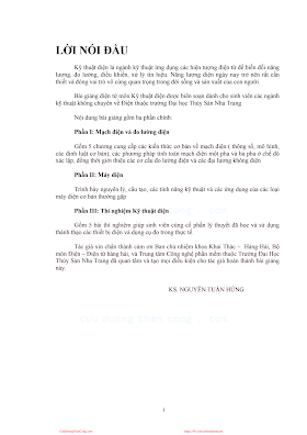 Kỹ Thuật Điện - Ks.Nguyễn Tuấn Hùng, 111 Trang.pdf