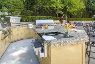Outdoor Kitchen Show Qr S Storage Space Remodeling Industry News Qualified