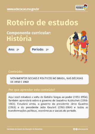 MOVIMENTOS SOCIAIS E POLÍTICOS NA AMÉRICA LATINA E NO BRASIL, NAS DÉCADAS DE 1950 E 1960