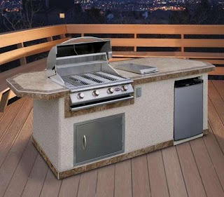 Pre Built Outdoor Kitchen Fab Kits Landscaping Network