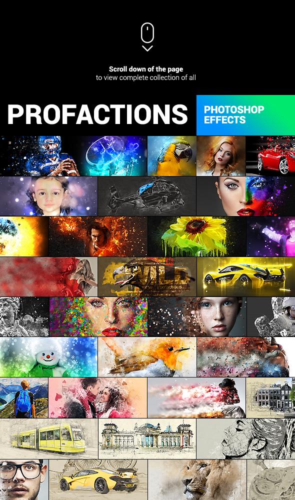 Watercolor Artist - Perfectum 2 - Photoshop Action - 2