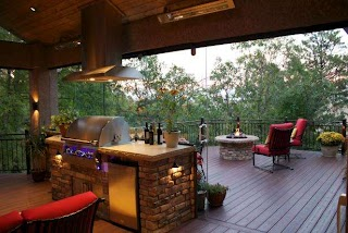 Outdoor Kitchen Deck Maximum Home Value Living Projects Hgtv