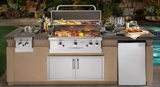 Premade Outdoor Kitchen Prefabricated Islands Bbq Grill Outlet