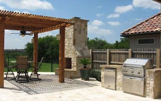 Dallas Outdoor Kitchens Living Spaces Tx Home Living