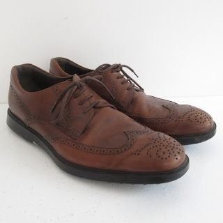 Tod's Brown Leather Wingtips