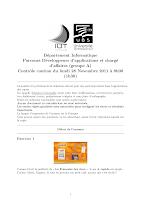 DS de Proba n 1 (université de Bretagne-sud)