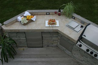 Outdoor Kitchen Countertops Ideas UK The New Way Home Decor